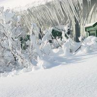 Зимний пейзаж, Северо-Курильск