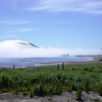 Туман с океана, Северо-Курильск