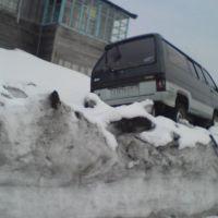 """Пьедестал"", Северо-Курильск"