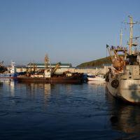 В порту, Северо-Курильск