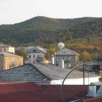 Вид с балкона., Томари