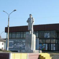 Село Тымовское, памятник вождю пролетариата  (Tymovskoye, monument of Lenin), Тымовское