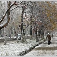 Начало зимы, Углегорск