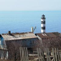 ►Холмск. Холмский маяк. Вид с ул. Некрасова, Холмск