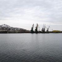 ✔Холмск. Вид на порт с набережной, Холмск