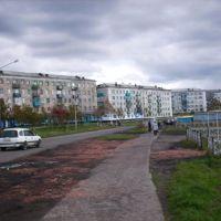 центр города шахтёрск, Шахтерск