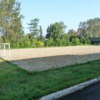 Площадка для пляжного волейбола на стадионе Новоуральска / Beach volleyball stadium Novouralsk, Новоуральск