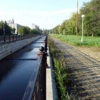 Новоуральск. Набережная. Река Бунарка. / Novouralsk. Quay. Bunarka river., Новоуральск