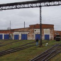 Депо Алапаевской узкоколейной железной дороги, Алапаевск