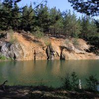 Алапаевск. Старый карьер заполненный водой, Алапаевск