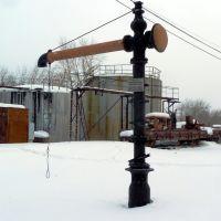 Алапаевск. Реставрированный Паровозный кран АУЖД., Алапаевск