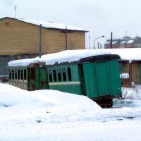 Алапаевск. Депо АУЖД. Старые вагоны., Алапаевск