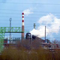 Алапаевск. Вид на завод., Алапаевск