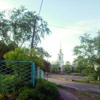 Арамиль. Вид на Свято-Троицкий храм., Арамиль