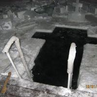 Прорубь а Крещение 19.01.2012, Арамиль