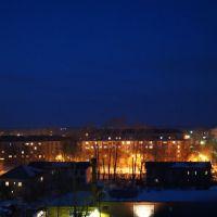 Вид на город с недостроенной больницы, Артемовский
