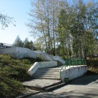 Лестница на городской стадион, Асбест