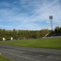 Основное поле городского стадиона, Асбест