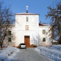 Церковь в Байкалово. 2009 г, Байкалово