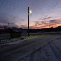 Одинокий фонарь  (5.11.11), Байкалово