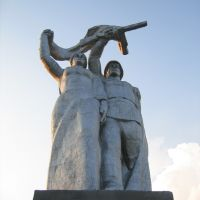 Monument of WW II, Березовский