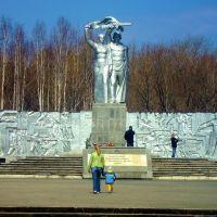 Берёзовский. Памятник Победы., Березовский