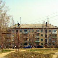 Берёзовский. ул.Строителей., Березовский