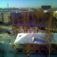 Берёзовский. Зимний вид с поликлиники., Березовский