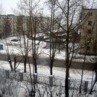 Вид на октябрьскую,90 из окна стационара., Богданович
