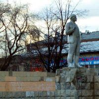 Буланаш. Ленин на площади., Буланаш
