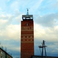Буланаш. Башня с часами., Буланаш