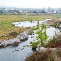 Верхний Тагил. Река Тагил после плотины., Верхний Тагил