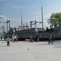 Новый музей военной техники, Катер, Верхняя Пышма