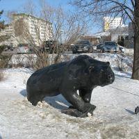 Скульптура «Медведь», Верхняя Пышма