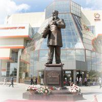 Памятник В.Е. Грум-Гржимайло / Monument V.E. Grum-Grzhimailo, Верхняя Пышма