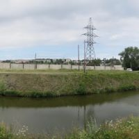 Плотина на р. Салда возле металлургического завода, Верхняя Салда