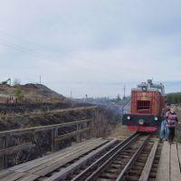 Туристический поезд на Алапаевской УЖД, Верхняя Синячиха