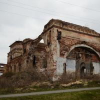 Разрушенная церковь, Верхняя Синячиха