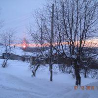 Закат в декабре, Верхняя Тура