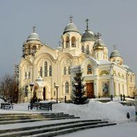 Верхотурье Крестовоздвиженский собор и Никольская церковь, Верхотурье