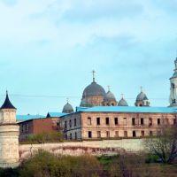 Верхотурье. Стены Николаевского монастыря., Верхотурье