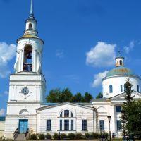 Верхотурье. Спасо-Прeoбражeнская церковь., Верхотурье