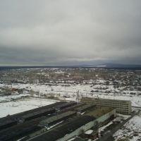 вид на город, Волчанск