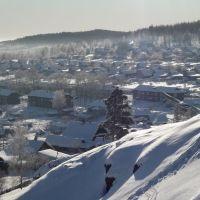 Вид на улочки, Дегтярск