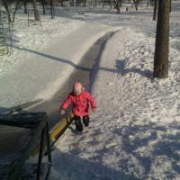 Ледовая горка, Дегтярск