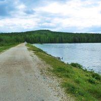 Дегтярск. Городской пруд. Плотина., Дегтярск