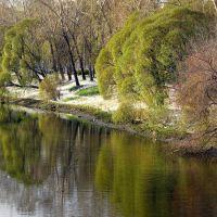 Iset river, Ekaterinburg, Russia, Екатеринбург