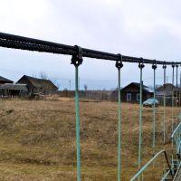 Устьянчики. Вид с моста через Нейву на левый берег., Зыряновский