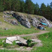 река Нейва, камень Родниковый, Зыряновский