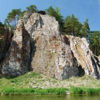 река Нейва, камень Шайтан, Зыряновский